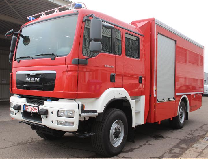Feuerwehrauto GWL2